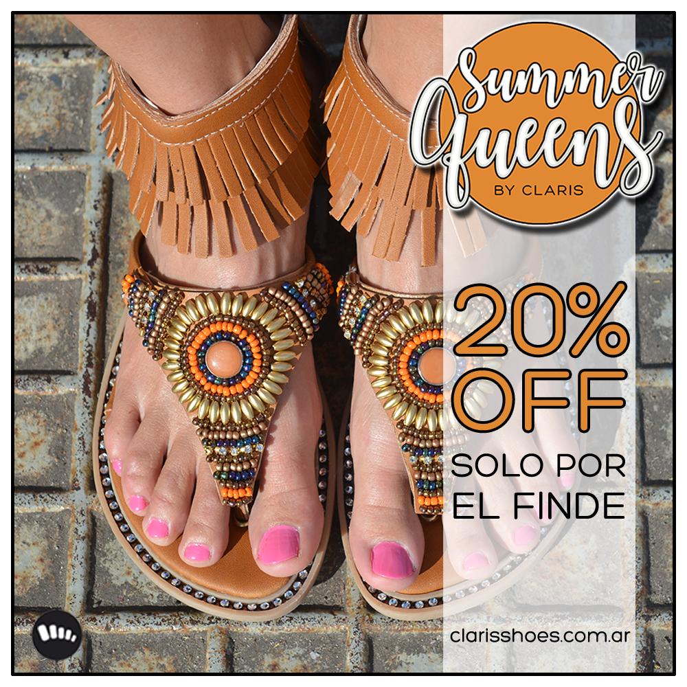 20% OFF SUMMER 17 | Sandalias, Ojotas, Plataformas y Más | Tiendas Oficiales